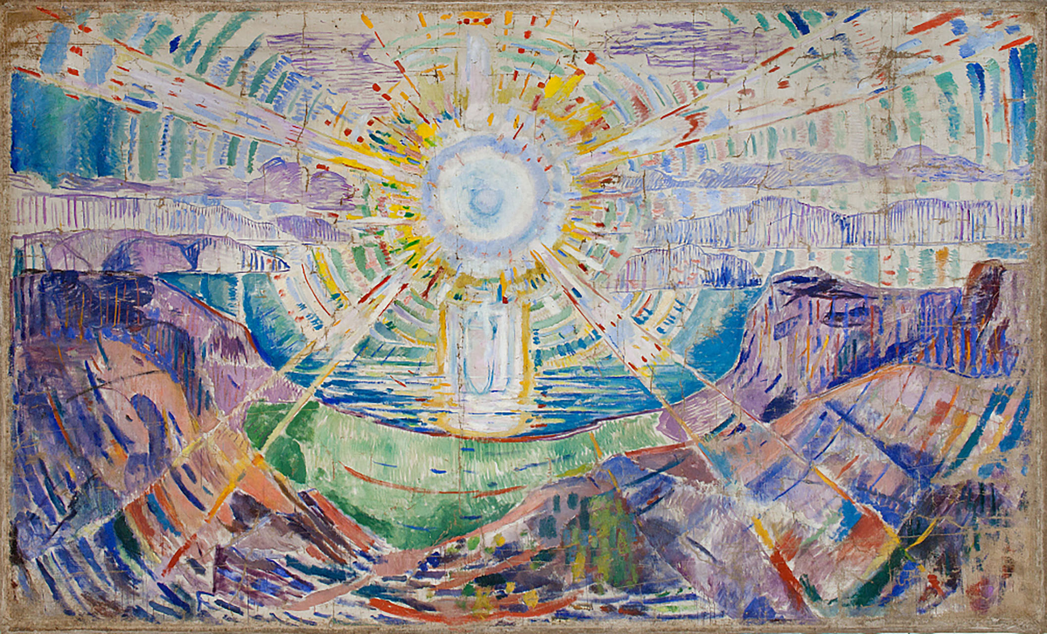 The Sun - E. Munch
